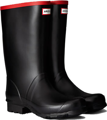 Image of Hunter Argyll Short Wellington Boots UK 12