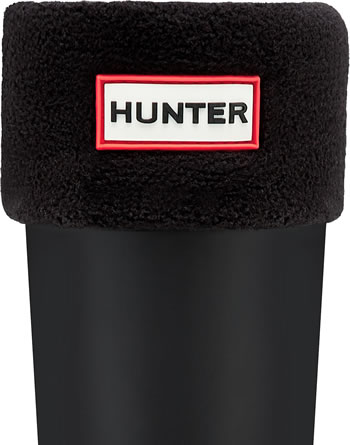Image of Kids Hunter Welly Socks - Black XL (UK 3-5)