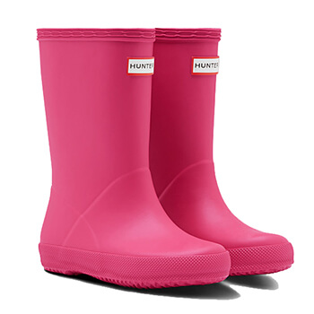 Image of Kids First Hunter Wellies - Bright Pink - UK 10 / EU 28