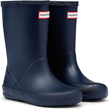 Image of Kids First Hunter Wellies - Navy UK 4