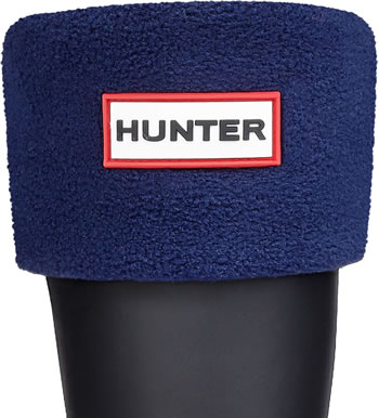 Image of Kids Hunter Welly Socks - Navy Large (UK 13-2)