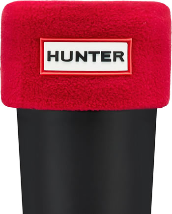 Image of Kids Hunter Welly Socks - Military Red