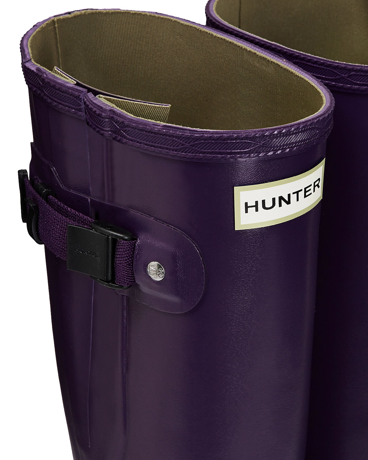 Extra image of Womens Hunter Norris Field Adjustable Boots - Dark Iris UK 6
