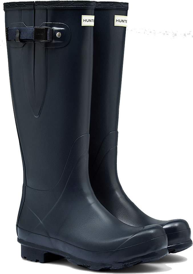 Mens Hunter Norris Field Adjustable Wellington Boots