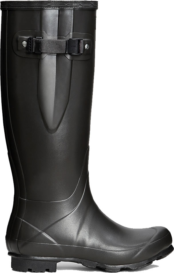 Extra image of Mens Hunter Norris Field Adjustable Wellington Boots - Slate UK 10