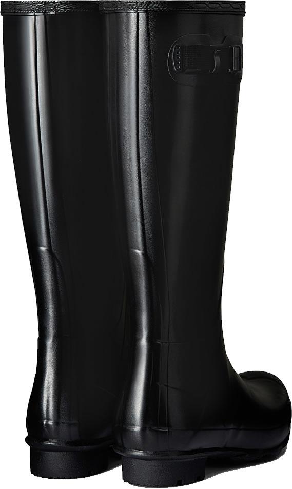 Mens Hunter Norris Field Wellington Boots Black 163 69 5