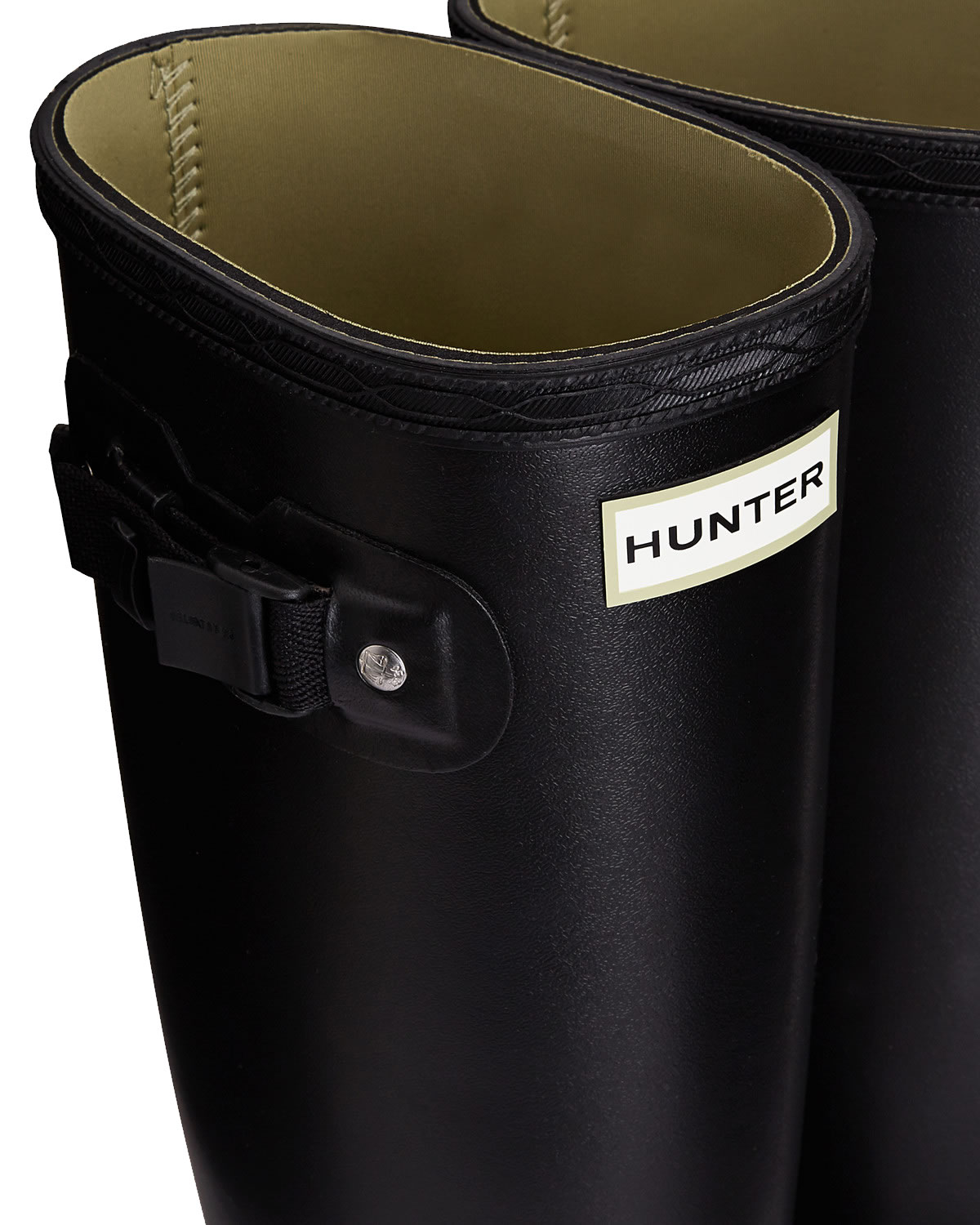 Extra image of Womens Hunter Norris Field Neoprene Wellington Boots - Black UK 7