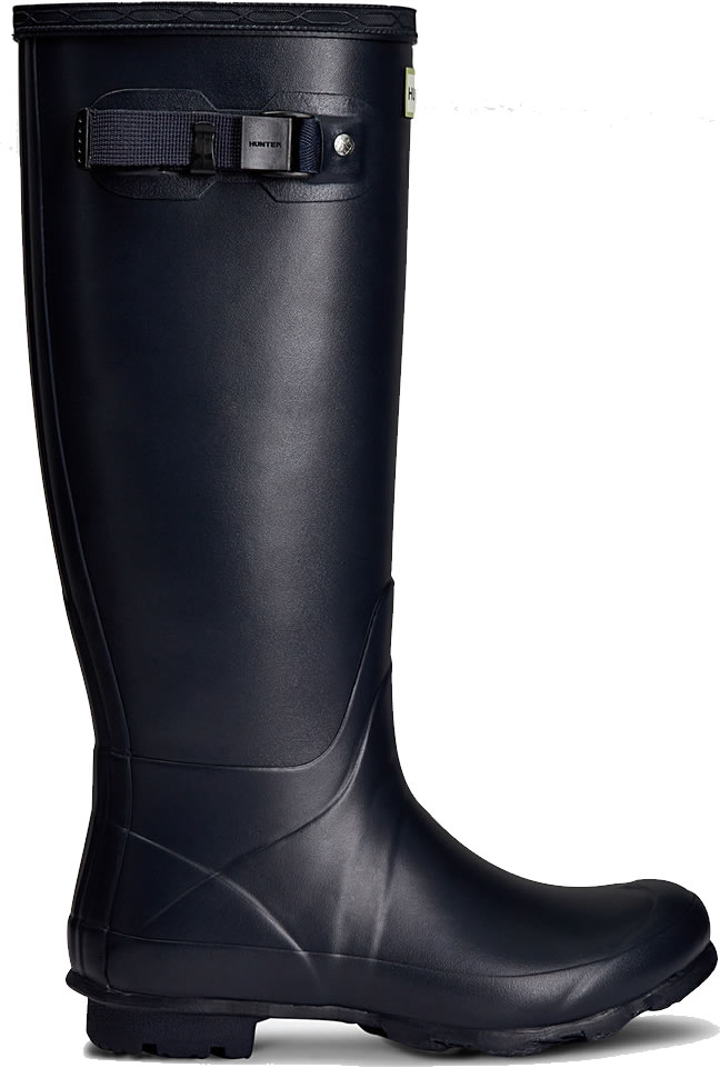 Extra image of Womens Hunter Norris Field Neoprene Wellington Boots - Navy UK 6