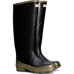 Small Image of Hunter Argyll Bullseye Wellington Boots - UK 11