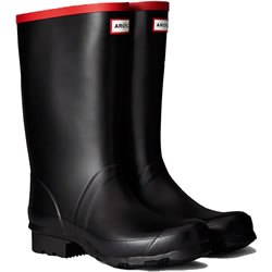 Small Image of Hunter Argyll Short Wellington Boots UK 12