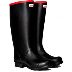 Small Image of Hunter Argyll Neoprene Wellington Boots UK 8