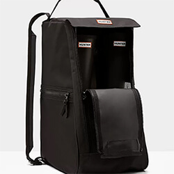 Extra image of Hunter Original Tall Boot Bag in Black