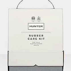 Extra image of Hunter Rubber Boot Care Kit - Clear
