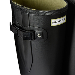 Extra image of Hunter Women's Norris Wide Fit Boot - Black - UK 8