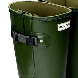 Extra image of Hunter Women's Norris Wide Fit Boot - Vintage Green - UK 6
