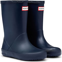 Small Image of Kids First Hunter Wellies - Navy UK 8