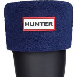 Small Image of Kids Hunter Welly Socks - Navy Large (UK 13-2)