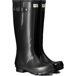 Small Image of Womens Hunter Norris Field Adjustable Wellington Boots - Slate UK 8