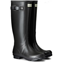 Small Image of Womens Hunter Norris Field Wellington Boots - Slate UK 5