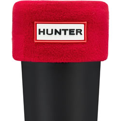 Small Image of Kids Hunter Welly Socks - Red - XL (UK 3-5)