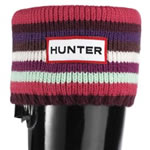 Small Image of Kids Hunter Welly Socks - Striped Reds