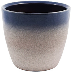 Extra image of Ivyline Turno 17cm Indoor Plant Pot in Ocean