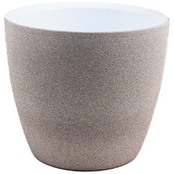 Extra image of Ivyline Turno 24cm Indoor Plant Pot in Cement