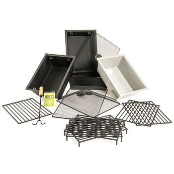 Image of Jamie Oliver Feastable Table Fire Pit Accessory Pack - Rectangular
