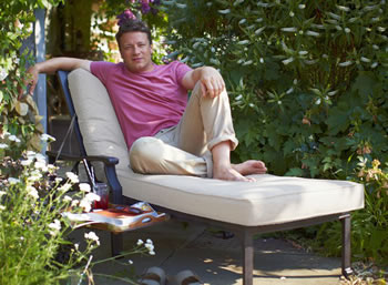 Image of Jamie Oliver Lounger - Classic Bronze / Biscuit