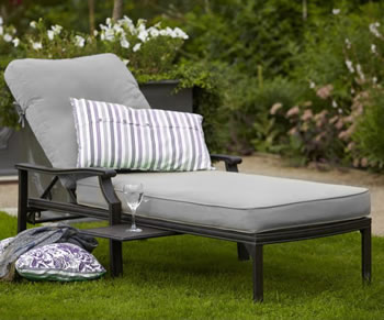 Image of Jamie Oliver Lounger - Classic Riven / Pewter