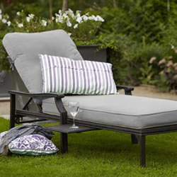 Small Image of Jamie Oliver Lounger - Classic Riven / Pewter