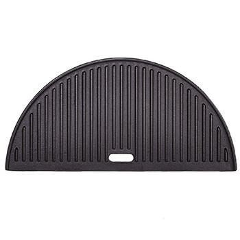 Image of Kamado Joe - Classic Joe Half Moon Cast Iron Reversible Griddle