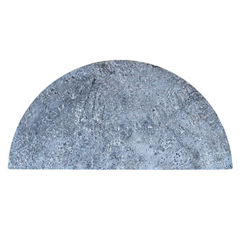 Image of Kamado Joe - Big Joe Half Moon Soapstone Cooking Surface