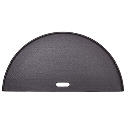 Extra image of Kamado Joe - Classic Joe Half Moon Cast Iron Reversible Griddle