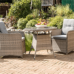 Small Image of Milan Bistro Set by Katie Blake
