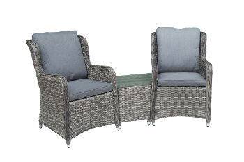 Image of Seville Companion 2 Seater Furniture Set by Katie Blake