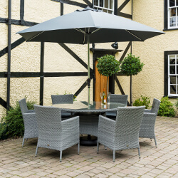 Small Image of Chatsworth 6 Seater 1.35m Round Dining Set by Katie Blake
