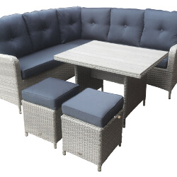 Small Image of Chatsworth Compact Corner Casual Dining Set by Katie Blake