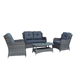 Small Image of Seville 2 seat Sofa Coffee Lounge Set by Katie Blake