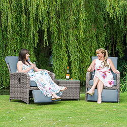 Weave Reclining Sets available from the Garden4Less UK Shop