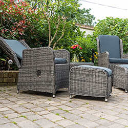 Extra image of Seville 2 Seater Recliner Chair Furniture Set by Katie Blake