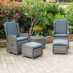 Small Image of Seville 2 Seater Recliner Chair Furniture Set by Katie Blake