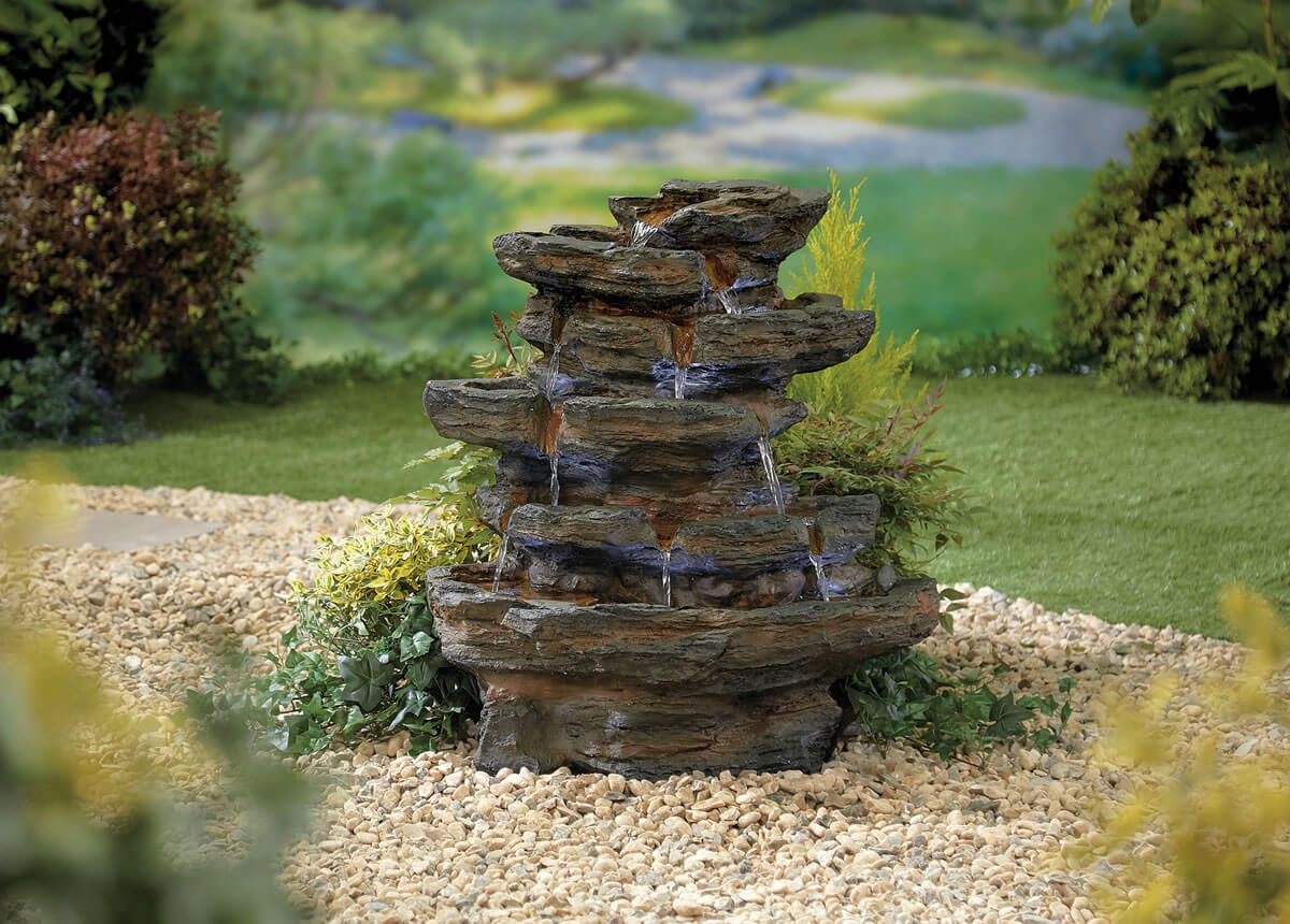 Kelkay Natural Collection Red Rock Springs Water Feature 249 99 Garden4less Uk Shop
