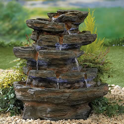 Small Image of Kelkay Natural Collection Red Rock Springs Water Feature