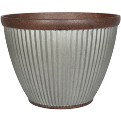 Extra image of Kelkay Plant Avenue Urban Collection Irondale Bowl in Silver