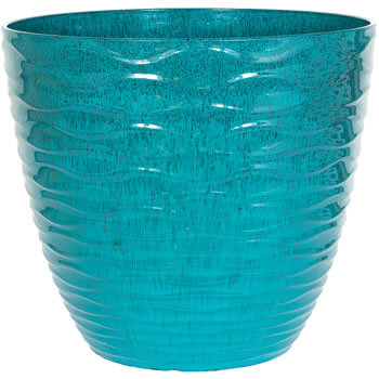 Image of Kelkay Plant Avenue Contemporary Collection Sm Windermere Pot in Teal
