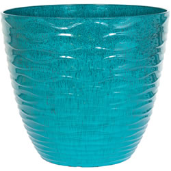 Small Image of Kelkay Plant Avenue Contemporary Collection Sm Windermere Pot in Teal