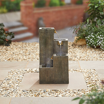 Image of Kelkay Traditional Collection Coastal Sleepers Water Feature
