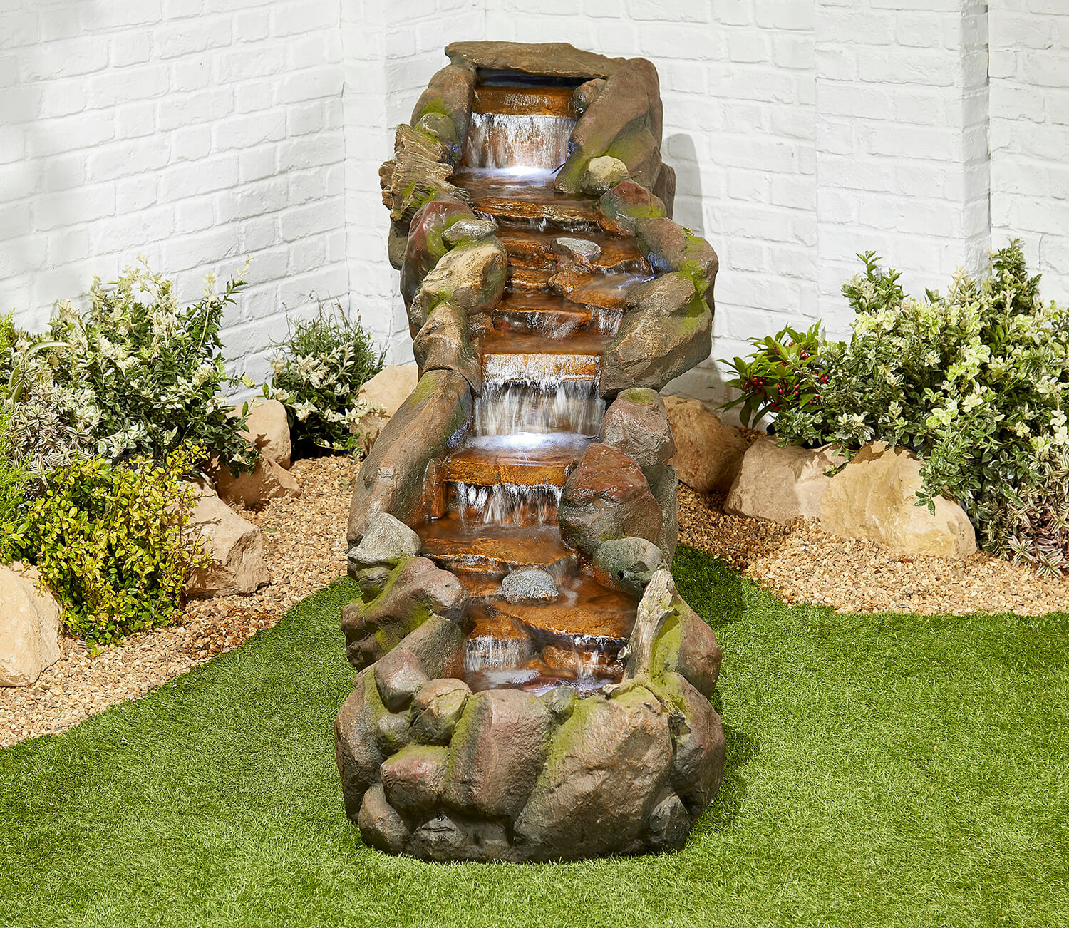 Bustling Waters Easy Fountain Garden Water Feature - £999 ...