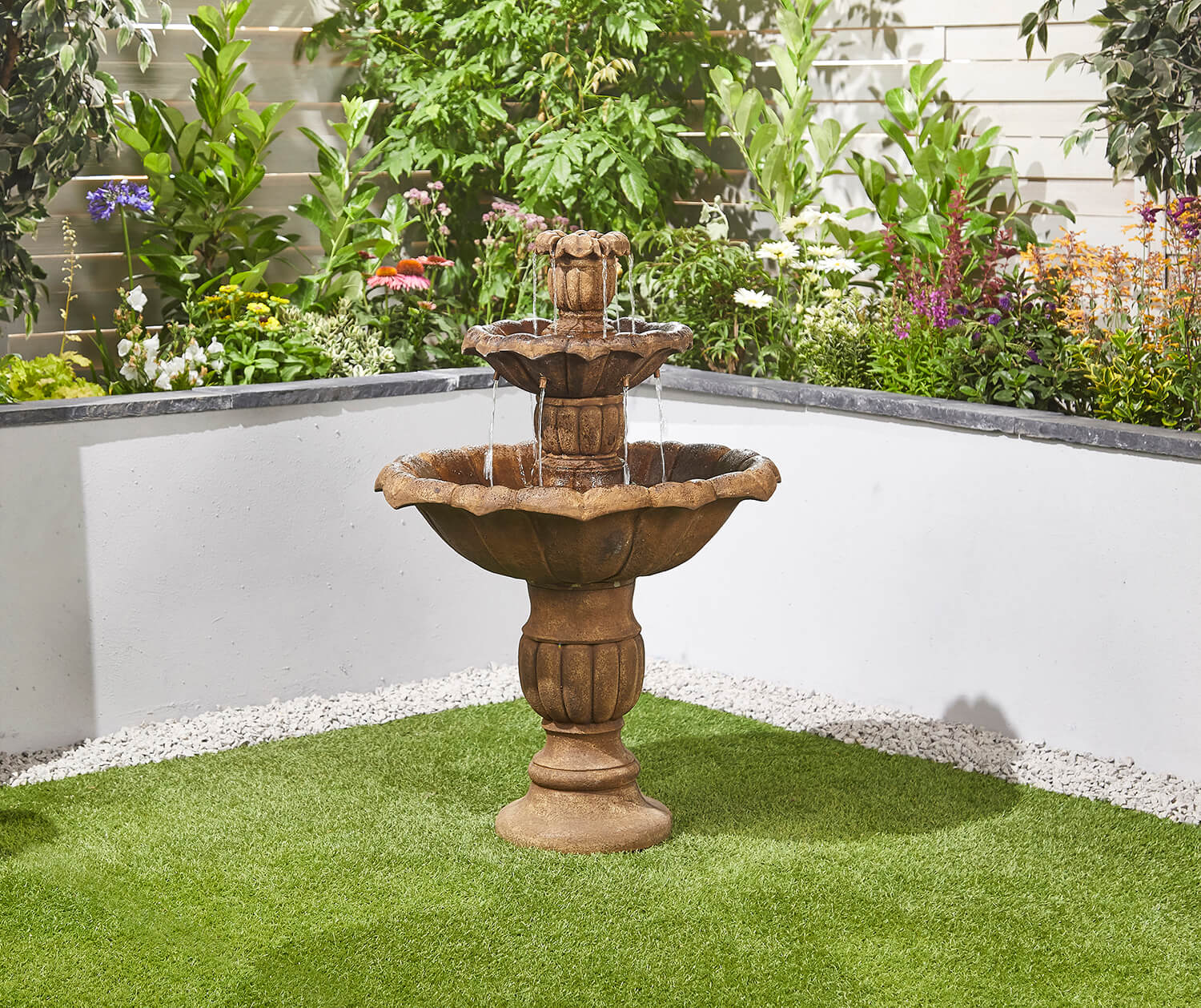 Ornate Falls Easy Fountain Garden Water Feature - £299.99 ...